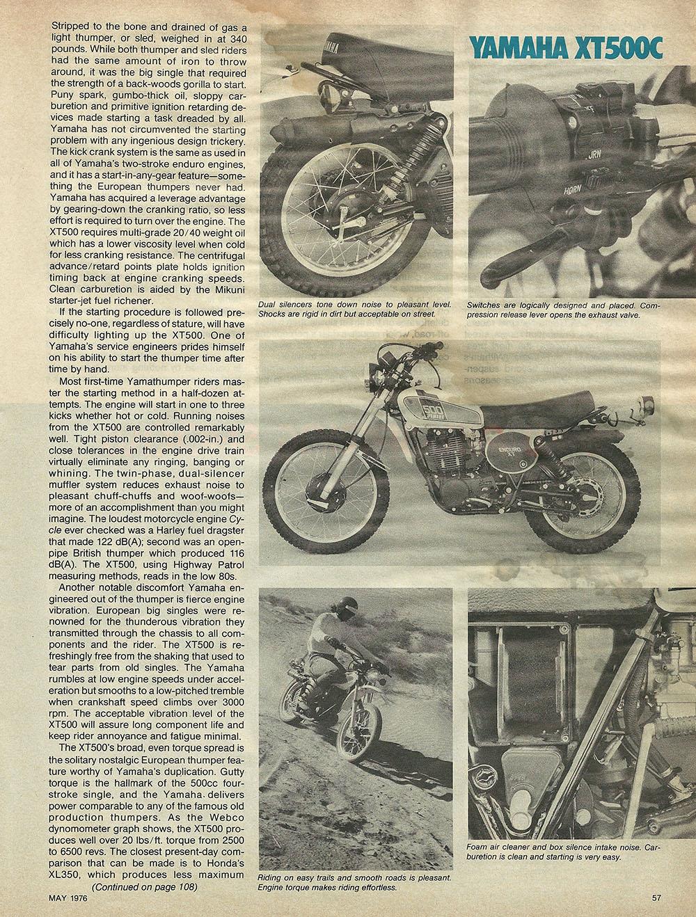 1976 Yamaha XT500C off road test 5.JPG