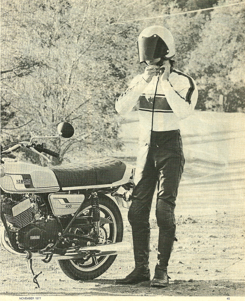 1977 Yamaha RD400E road test 2.jpg