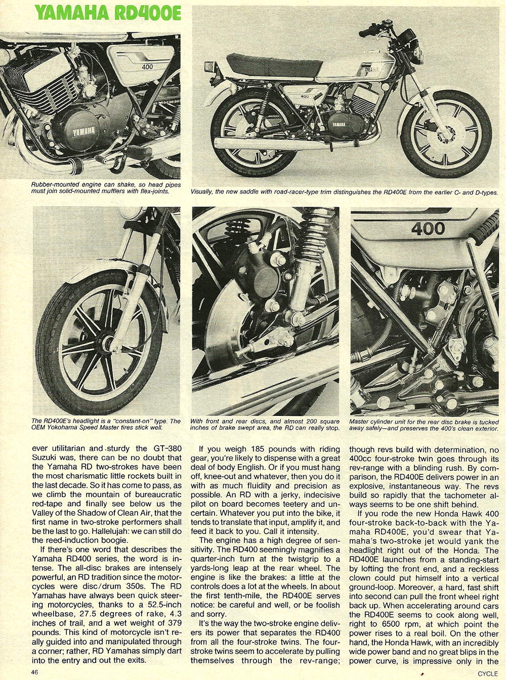 1977 Yamaha RD400E road test 3.jpg
