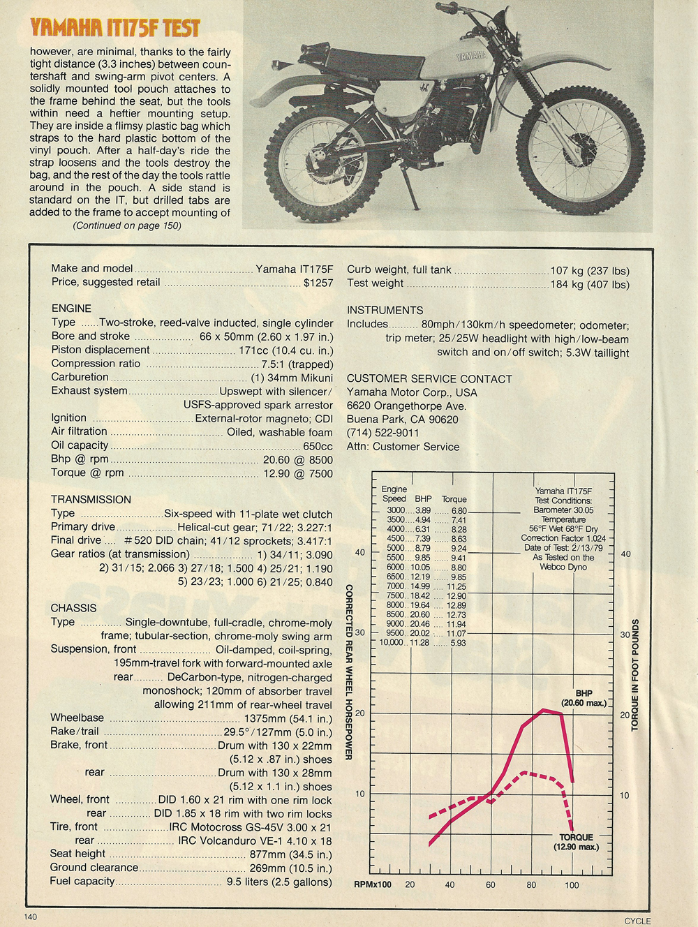 1979 Yamaha IT175F off road test 7.jpg