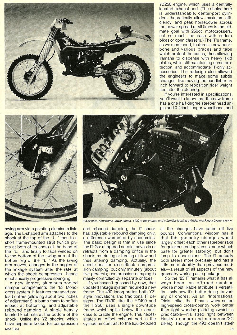 1983 Yamaha IT490K road test 5.jpg