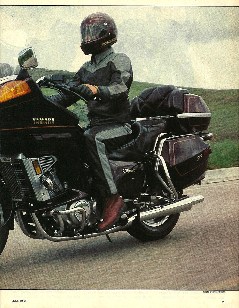 1983 Yamaha XVZ12TK Venture road test 02.jpg