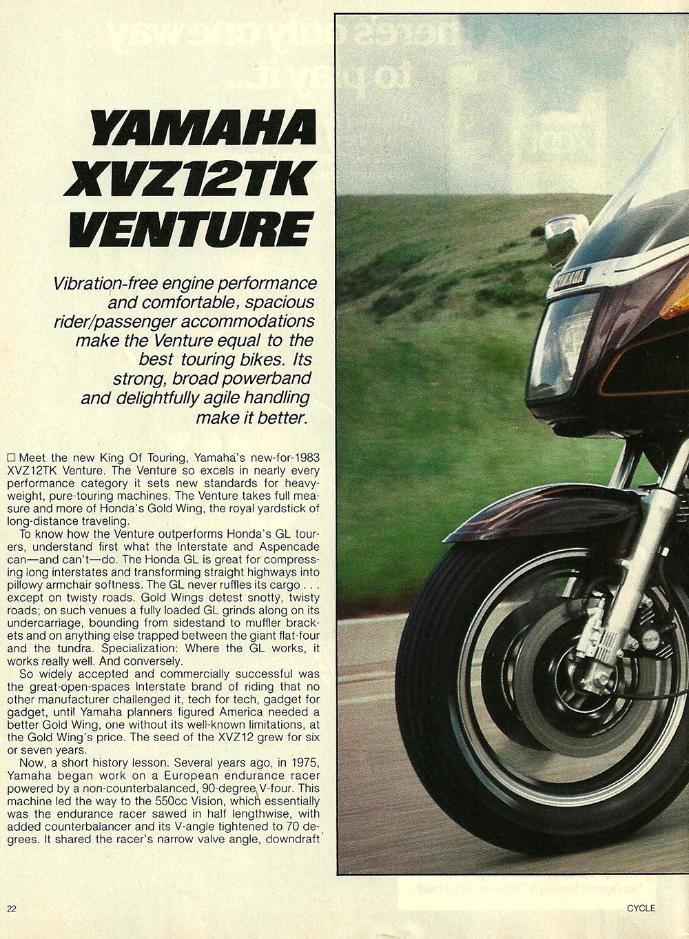 1983 Yamaha XVZ12TK Venture road test 01.jpg