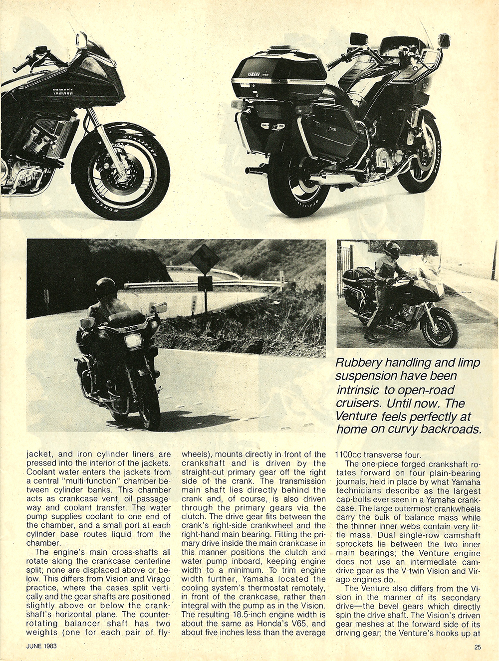 1983 Yamaha XVZ12TK Venture road test 04.jpg