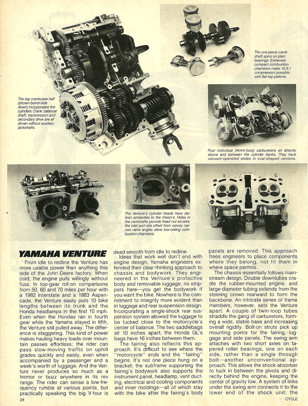1983 Yamaha XVZ12TK Venture road test 07.jpg