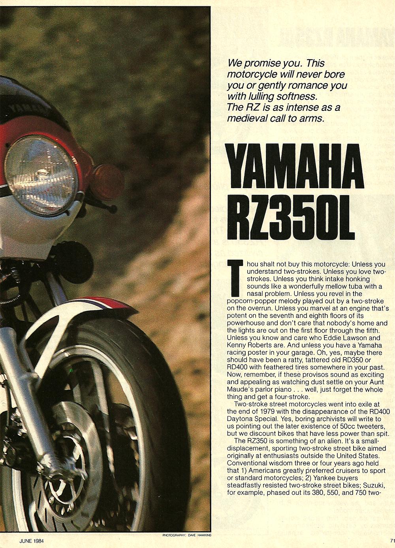 1984 Yamaha RZ350L road test 02.jpg