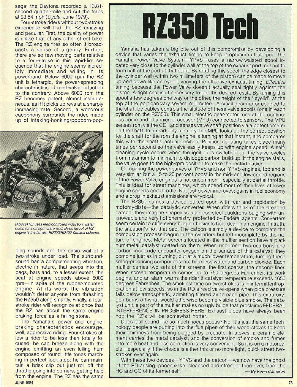 1984 Yamaha RZ350L road test 06.jpg