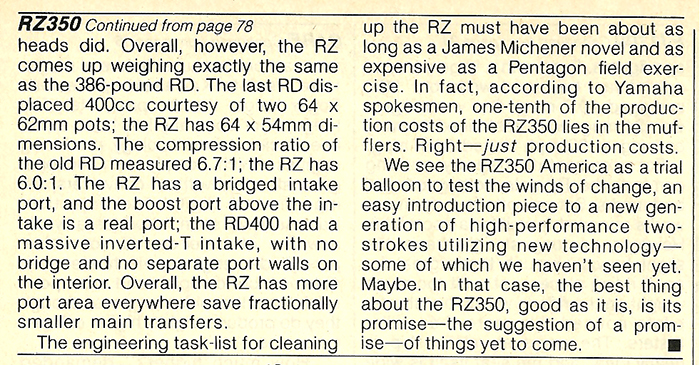 1984 Yamaha RZ350L road test 10.jpg
