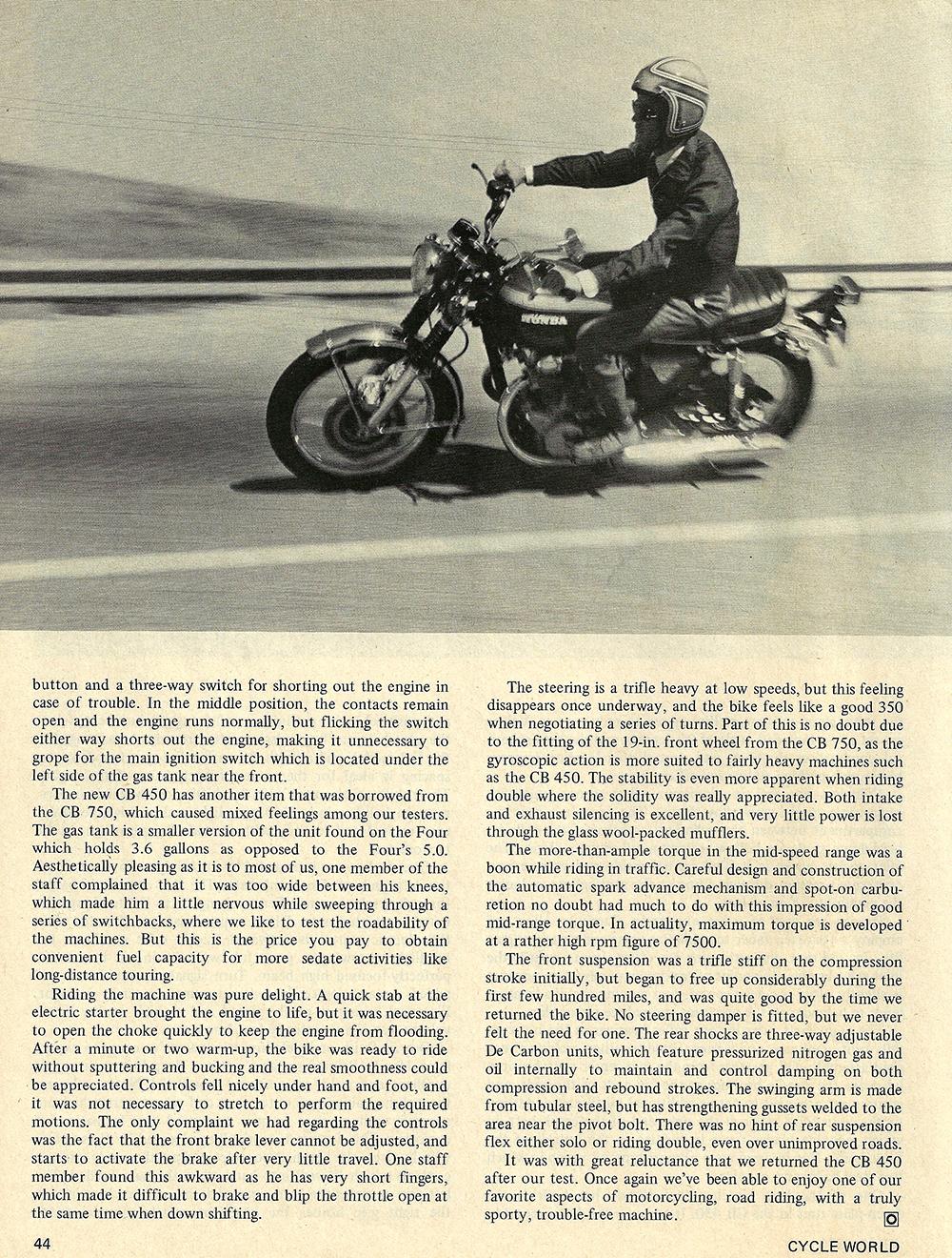 1970 Honda CB450 road test 04.jpg
