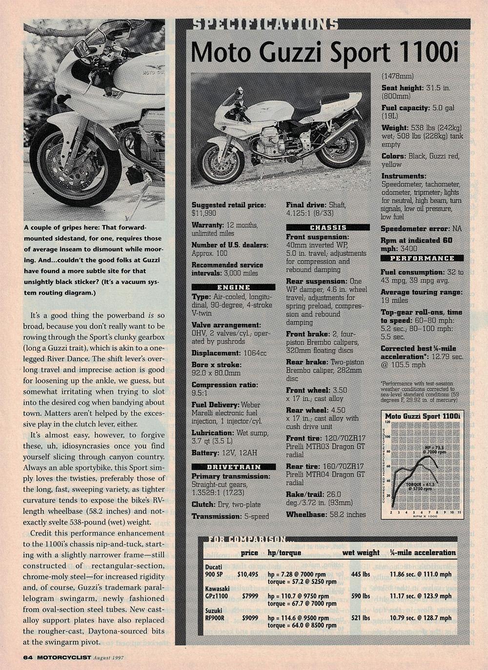 1997 Moto Guzzi Sport 1100i road test 4.jpg