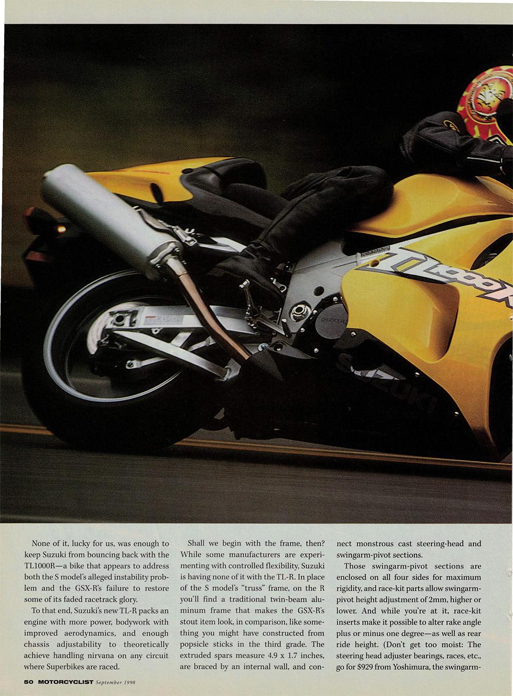 1998 Suzuki TL1000R road test 03.jpg