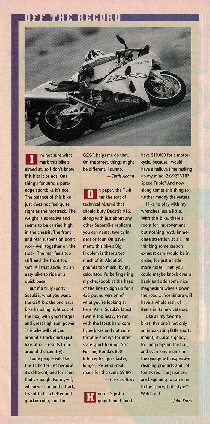 1998 Suzuki TL1000R road test 12.jpg
