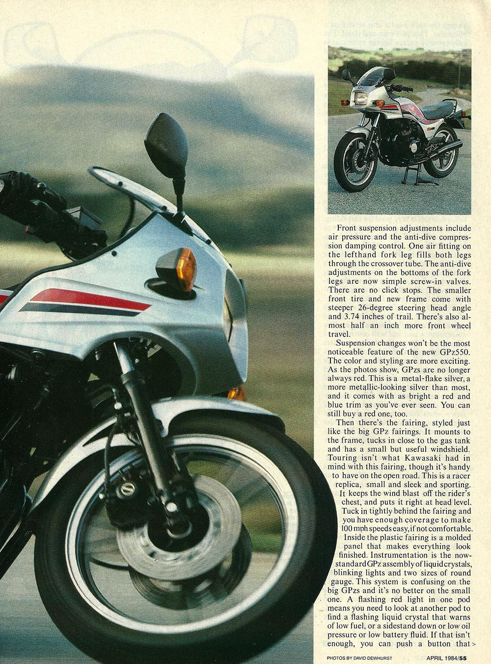 1984 Kawasaki GPz550 road test 04.jpg
