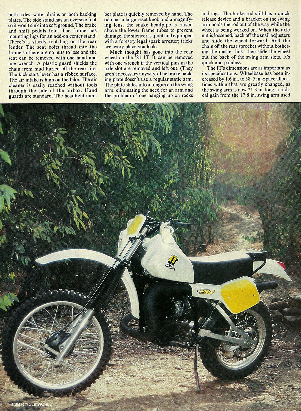 1981 Yamaha IT250H road test 03.jpg