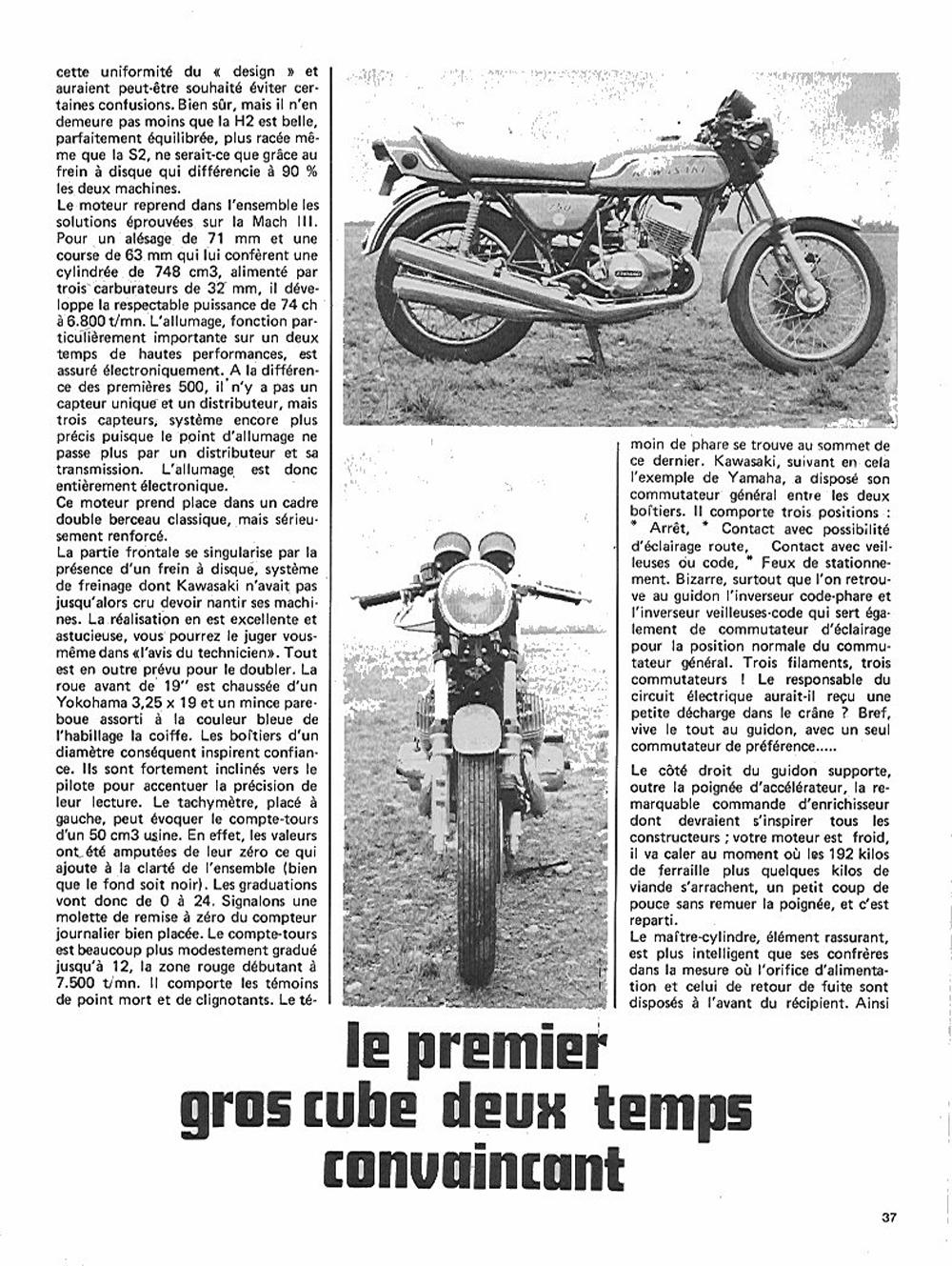 1972 Kawasaki H2 750 road test france 02.jpg
