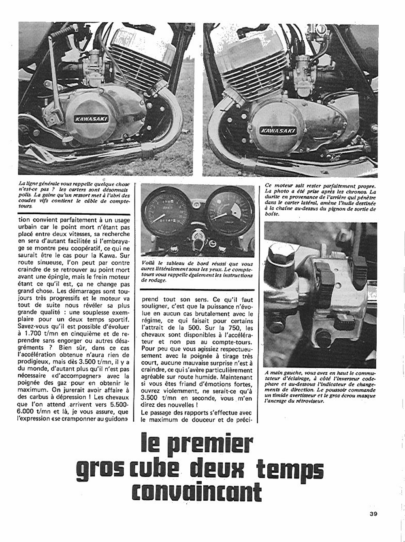 1972 Kawasaki H2 750 road test france 04.jpg