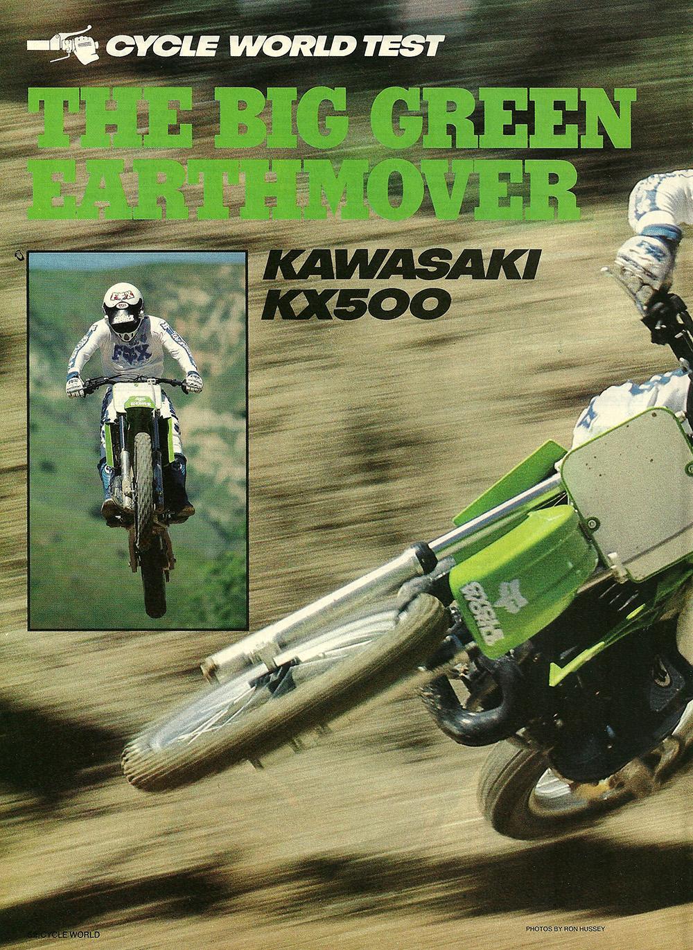 1986 Kawasaki KX500 road test 01.jpg