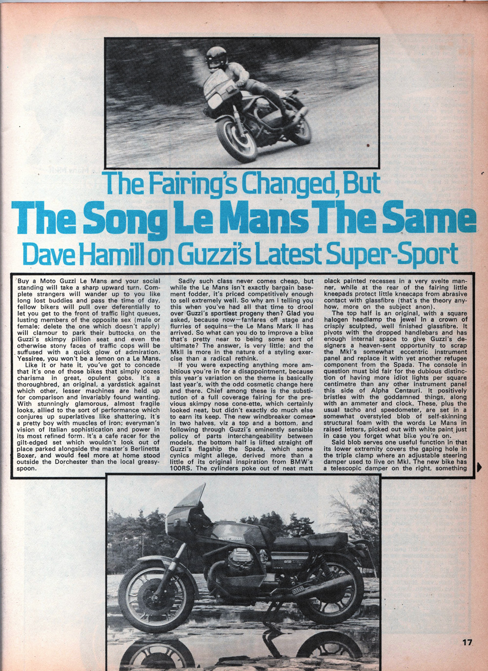 1979 Moto Guzzi 850 LeMans MkII road test 02.jpg