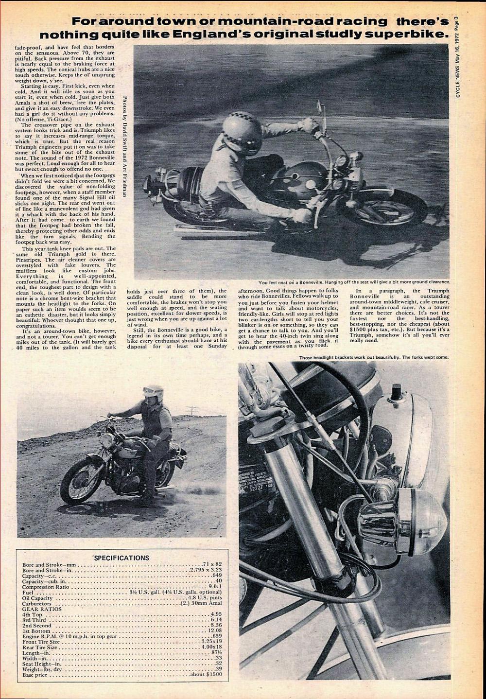 1972 Triuimph T120R Bonneville road test 02.jpg