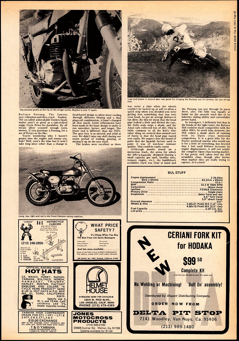 1973 Bultaco Pursang road test. 2.jpg