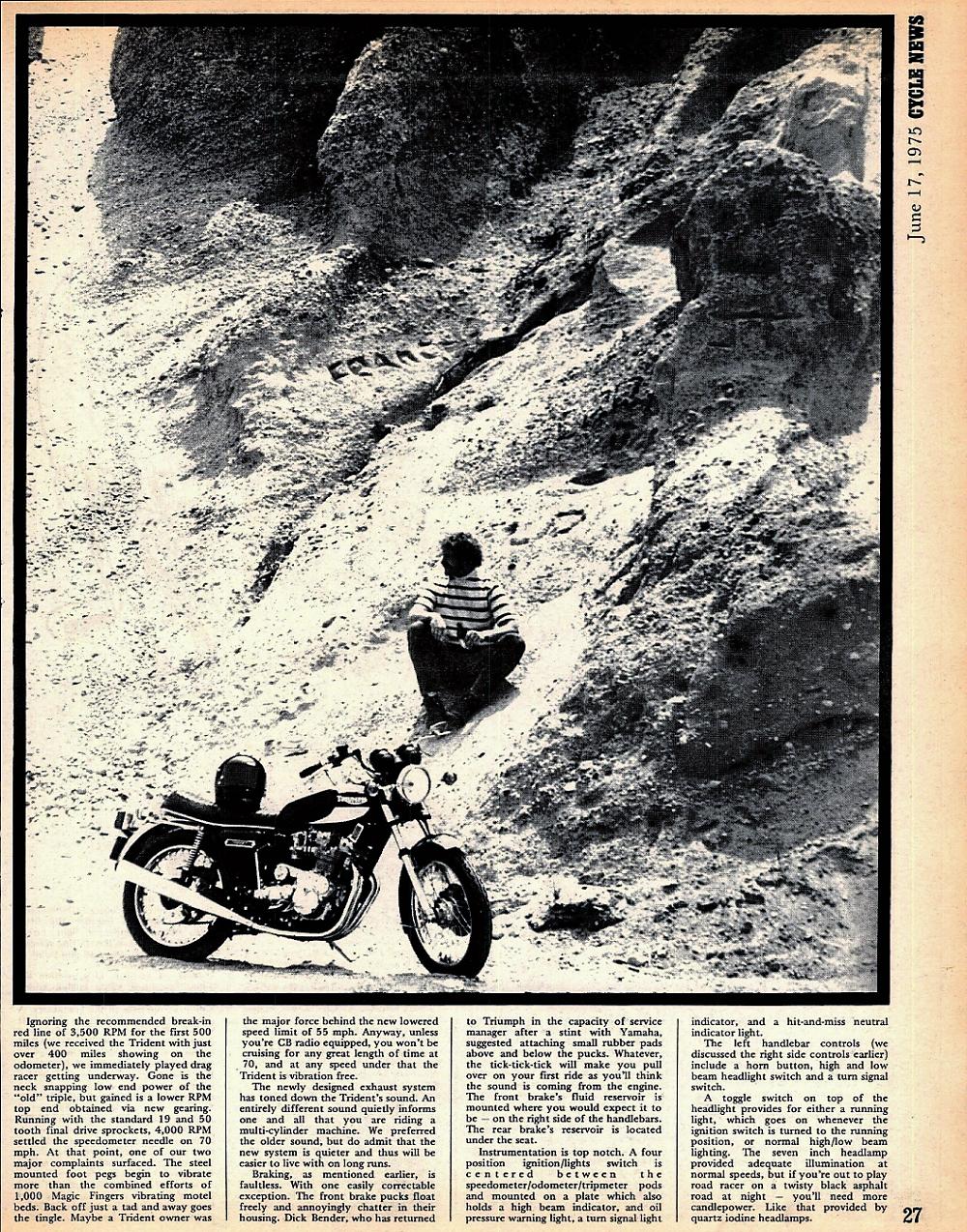 1975 Triumph T160 road test. 3.jpg