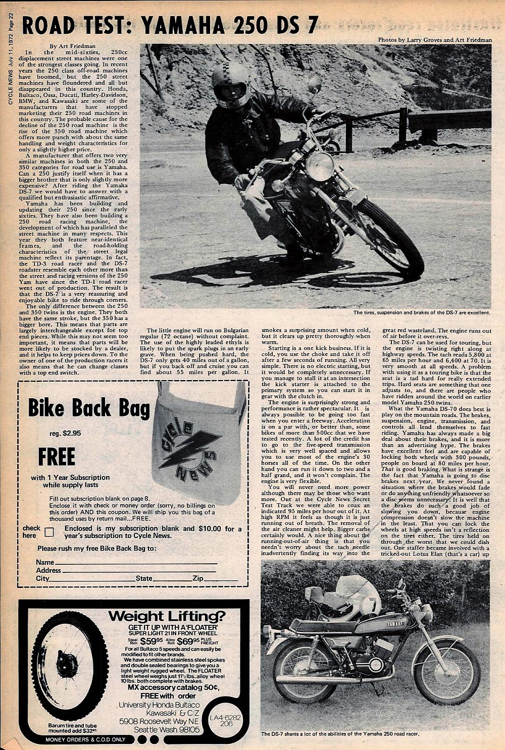 1972 Yamaha 250 DS 7 road test.1..jpg