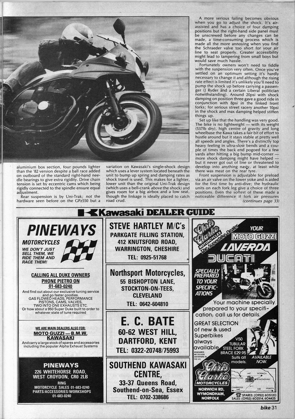 1983 Kawasaki GPZ 1100 road test. 5.jpg