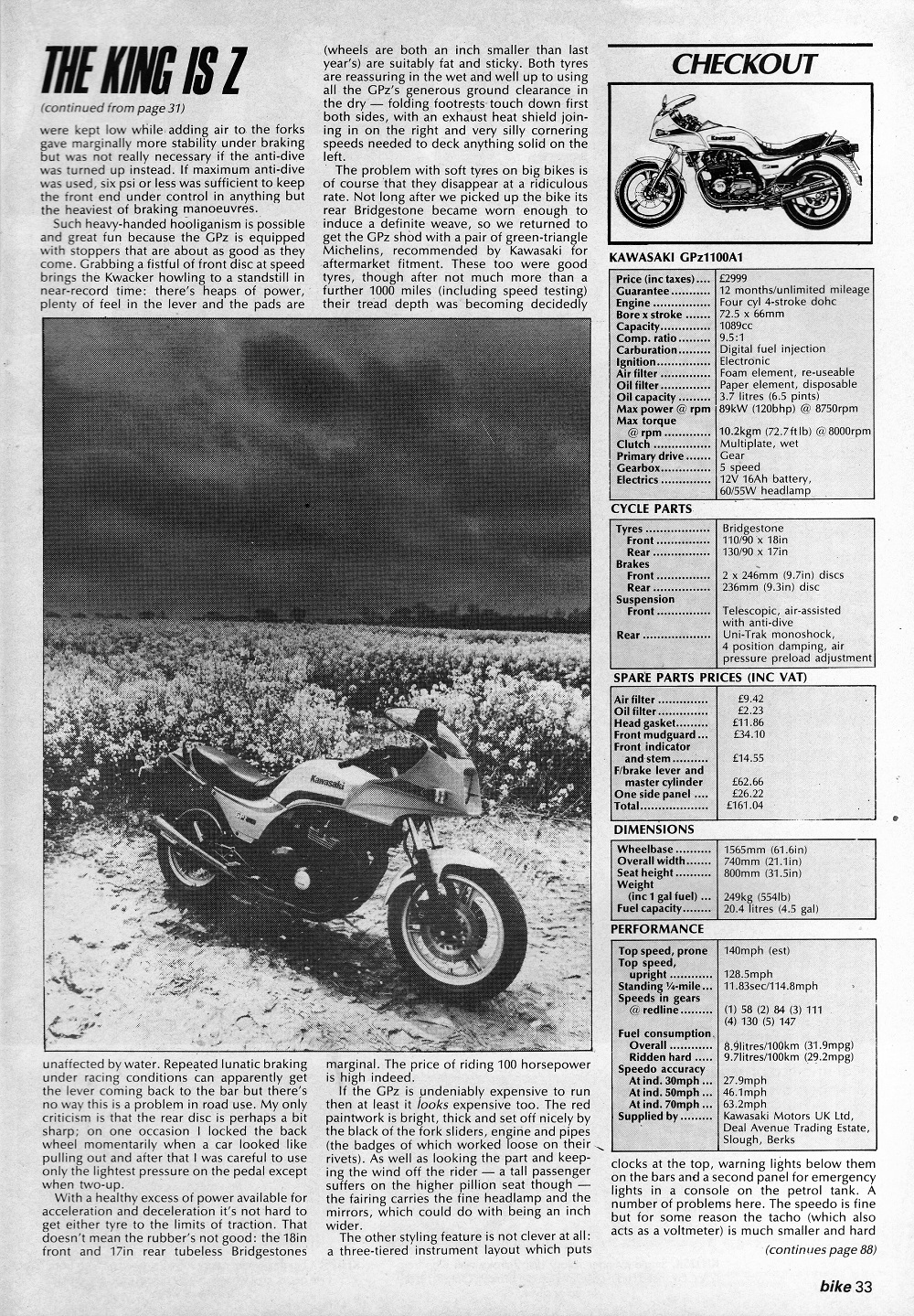 1983 Kawasaki GPZ 1100 road test. 6.jpg