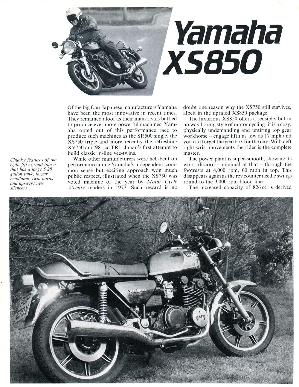 1982 Yamaha XS850 road test. 1.jpg