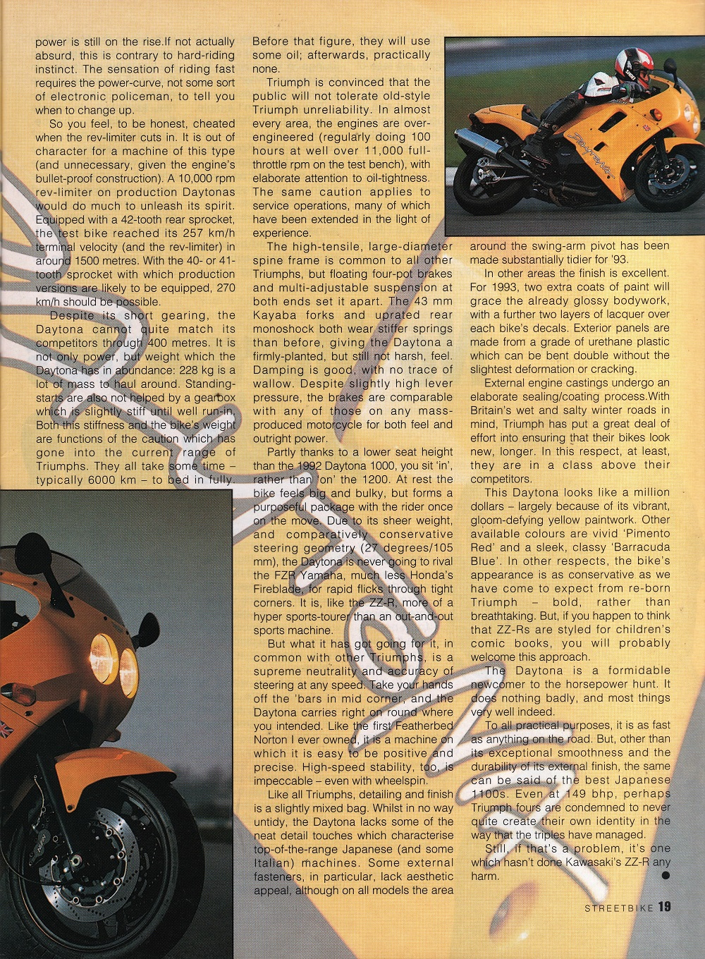 1993 Triumph Daytona 1200 road test. 2.jpg