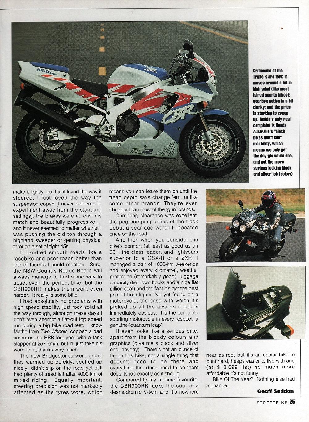 1993 Honda CBR900RRR road test. 2.jpg