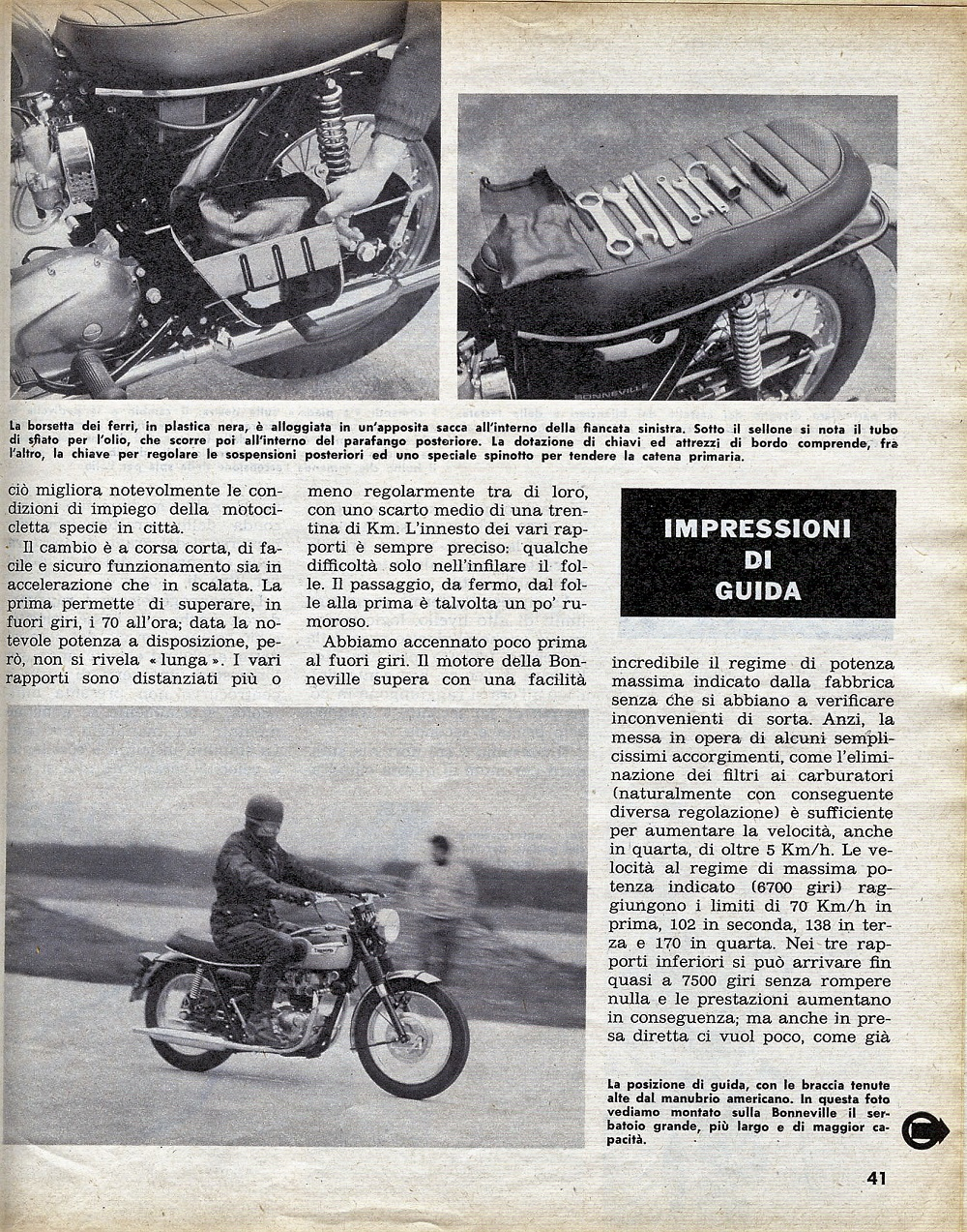 1969 Triumph Bonneville road test. 8.jpg