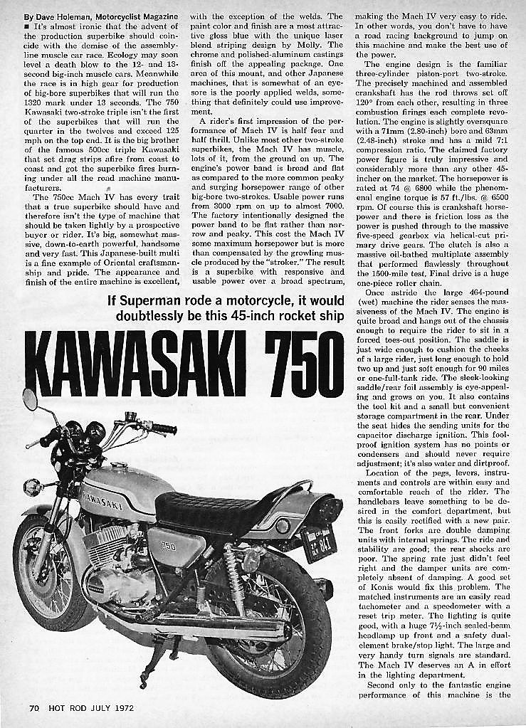 1972 Kawasaki H2 road test. 1 .jpg