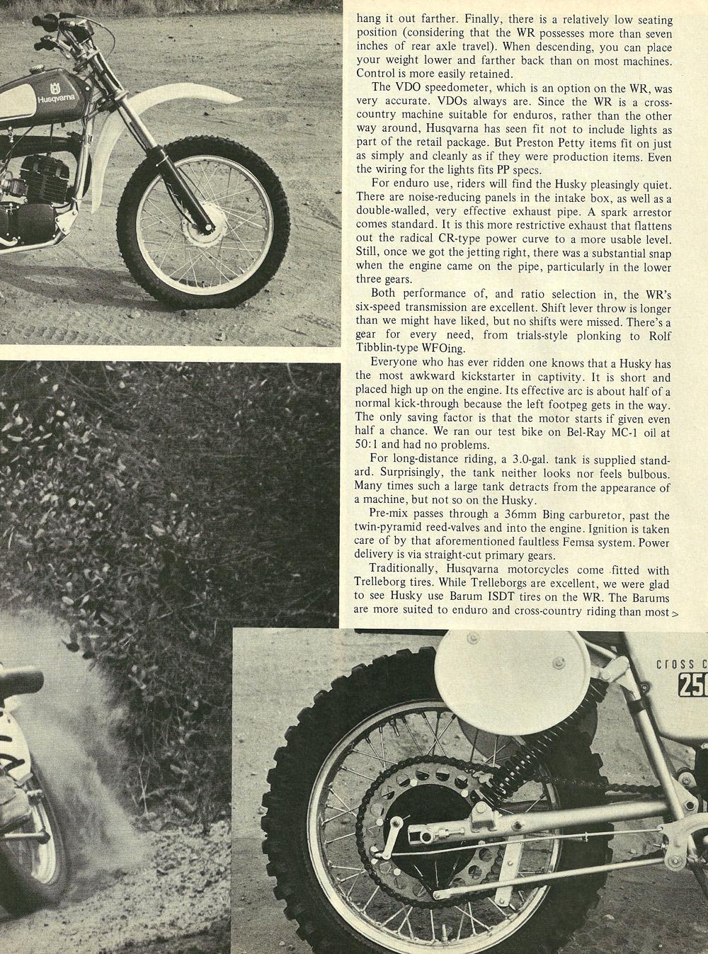 1976 Husqvarna 250WR road test 05.jpg