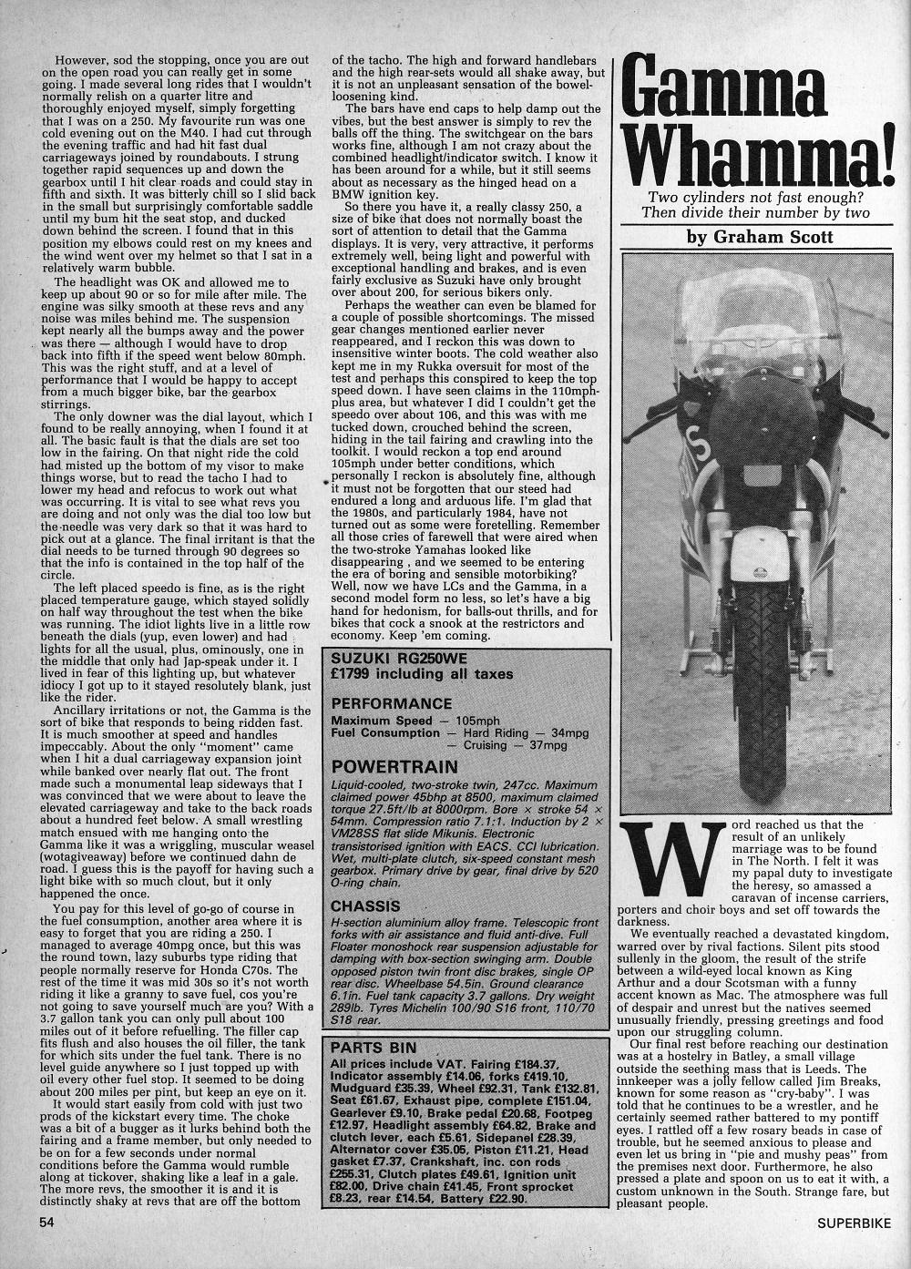 1985 Suzuki RG250 Gamma road test.4.jpg