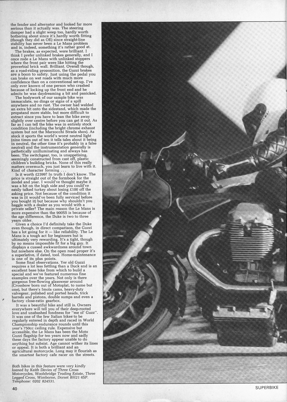 1979 Ducati 900SS & 1981 Moto Guzzi Le Mans 111 road test.6.jpg