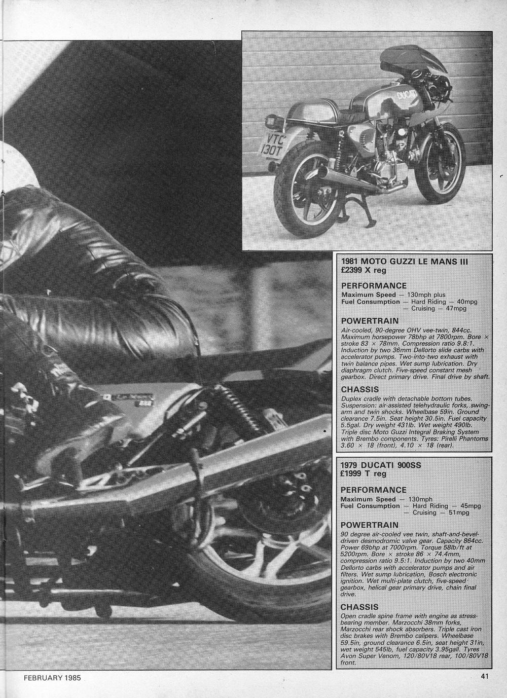 1979 Ducati 900SS & 1981 Moto Guzzi Le Mans 111 road test7.jpg