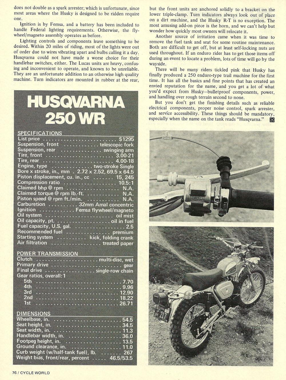 1973 Husqvarna 250 wr road test 05.jpg