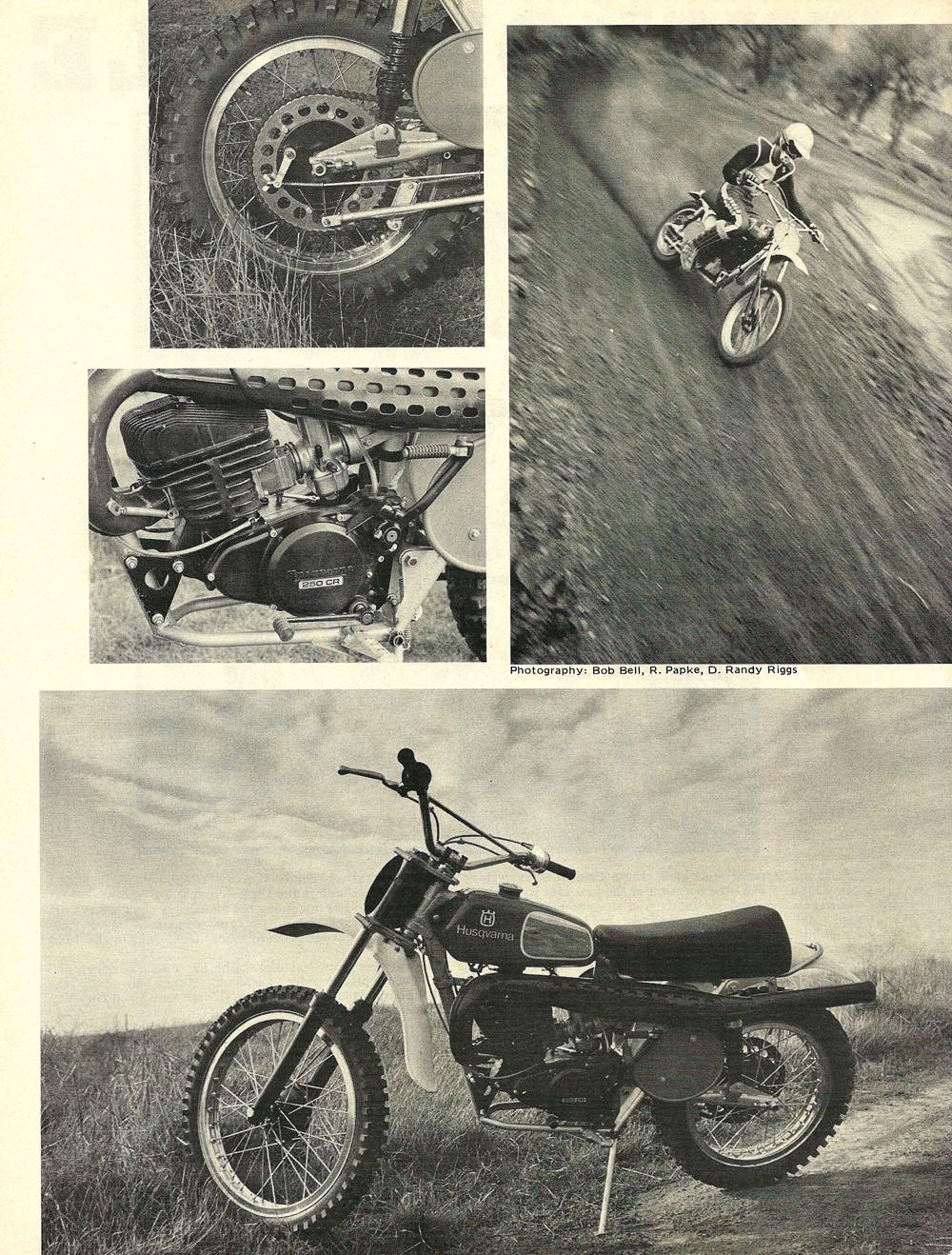 1974 Husqvarna 250 CR road test 01.jpg
