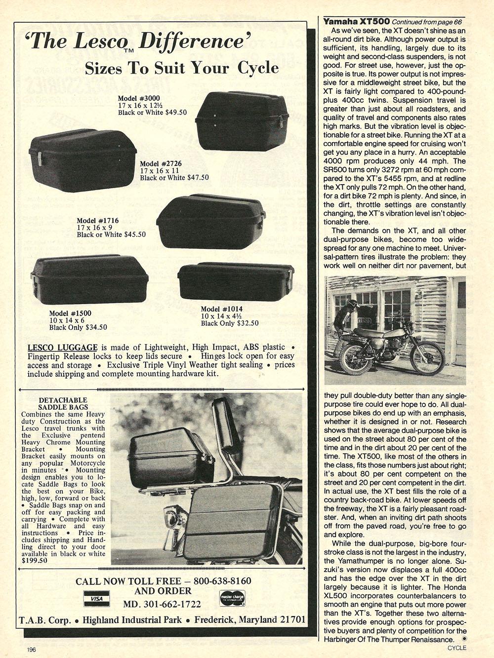 1980 Yamaha XT500G road test 07.jpg