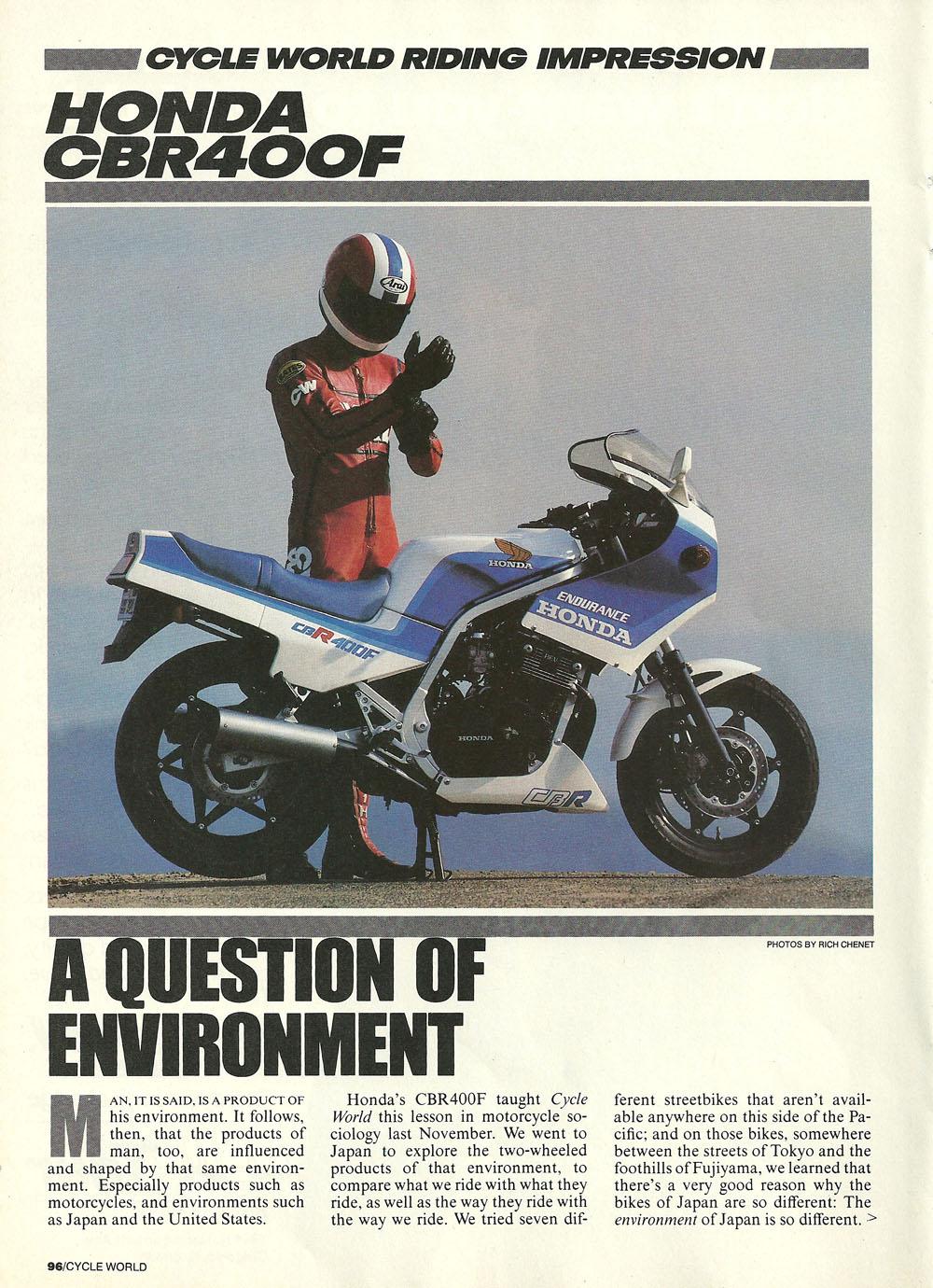 1985 Honda CBR400F road test 01.jpg
