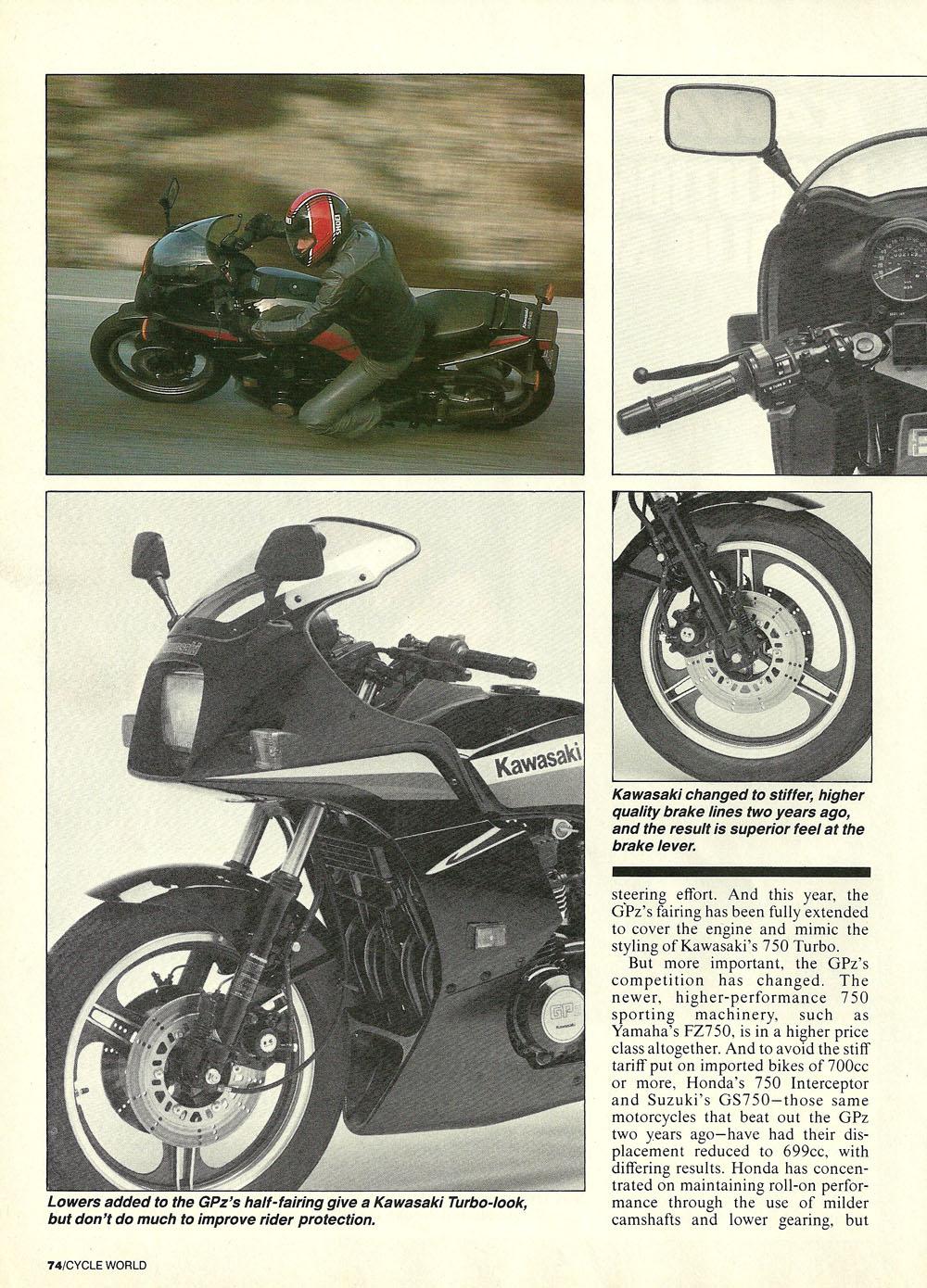 1985 Kawasaki GPz750 road test 02.jpg