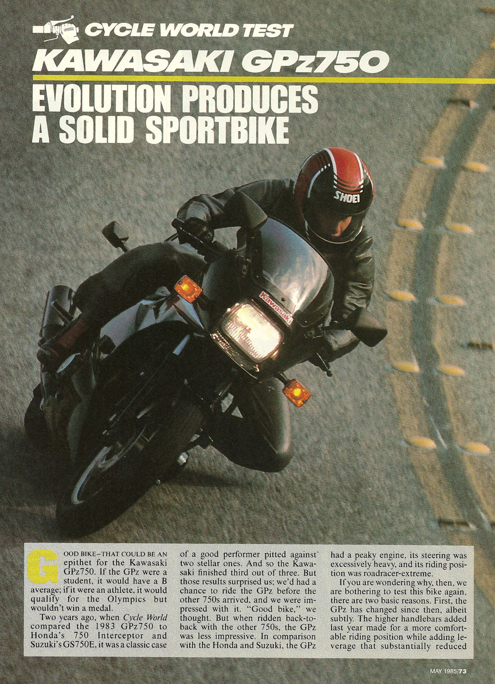 1985 Kawasaki GPz750 road test 01.jpg