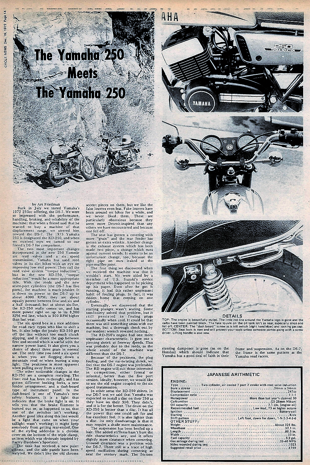 1973 Yamaha RD 250 & 1972 DS7 250 road test.1.jpg