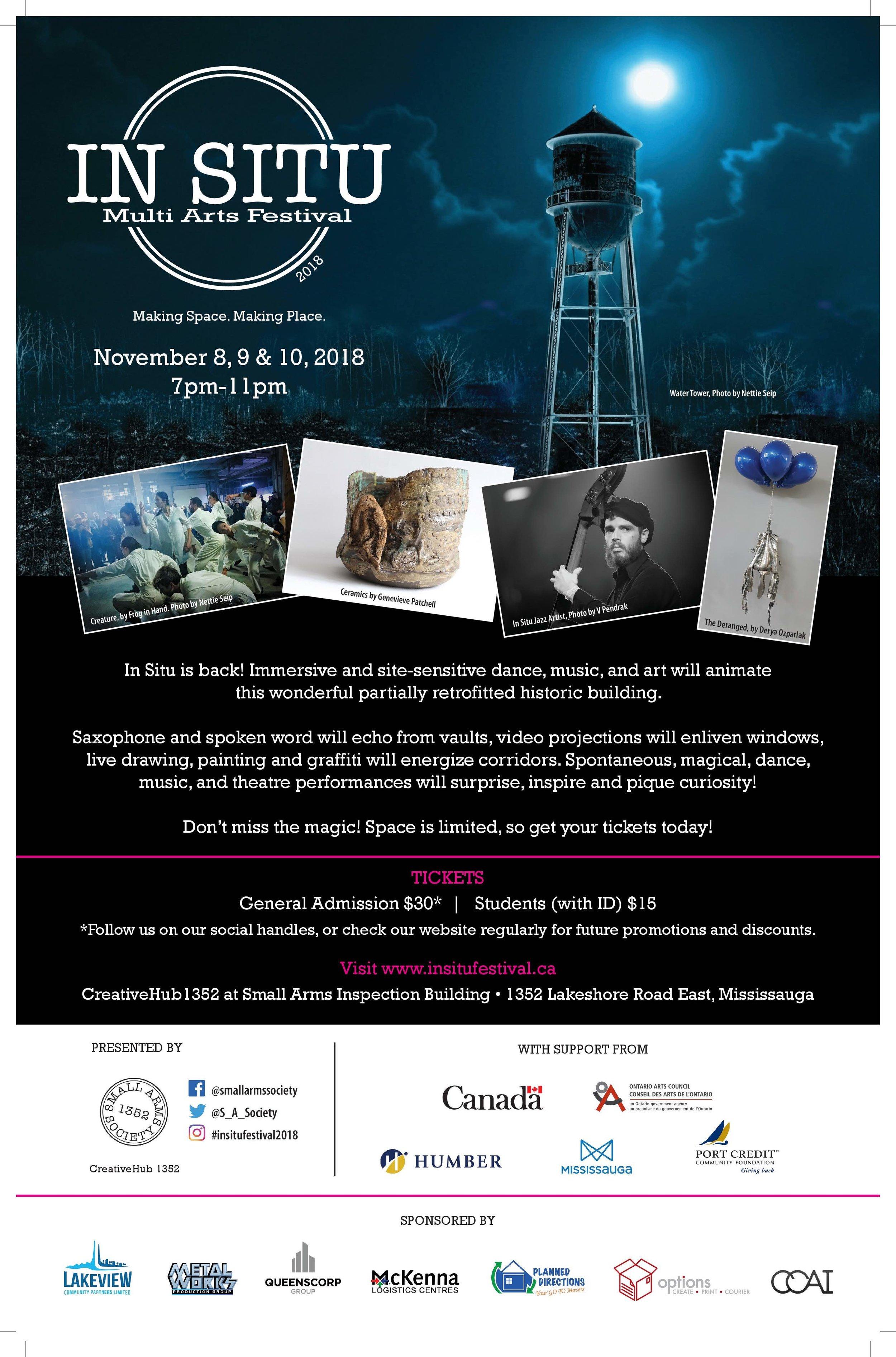 InSitu, CreativeHub 1352, Arts Festival, CGOS, Collaboration, Small Arm, Society, Canadian Glaze Oil, .jpg