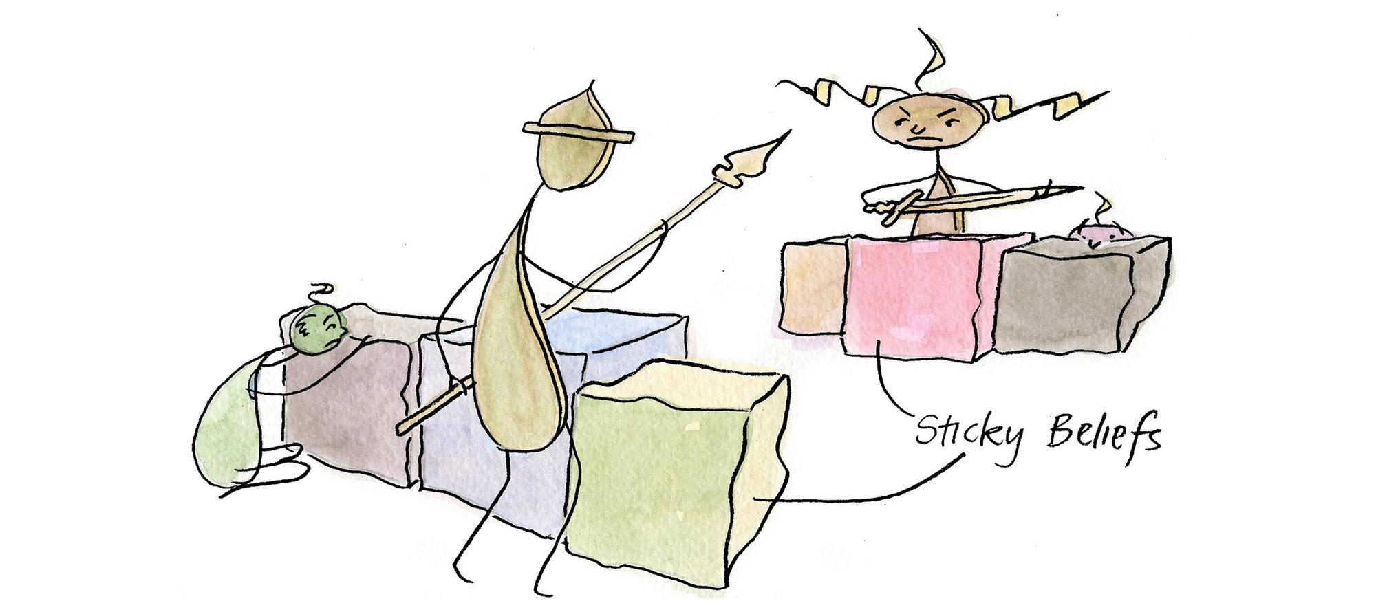 illustration by Bill Murray, PhD