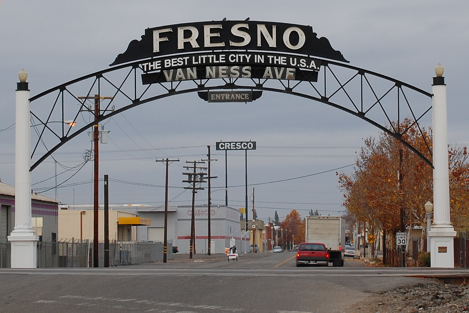 The City of Fresno