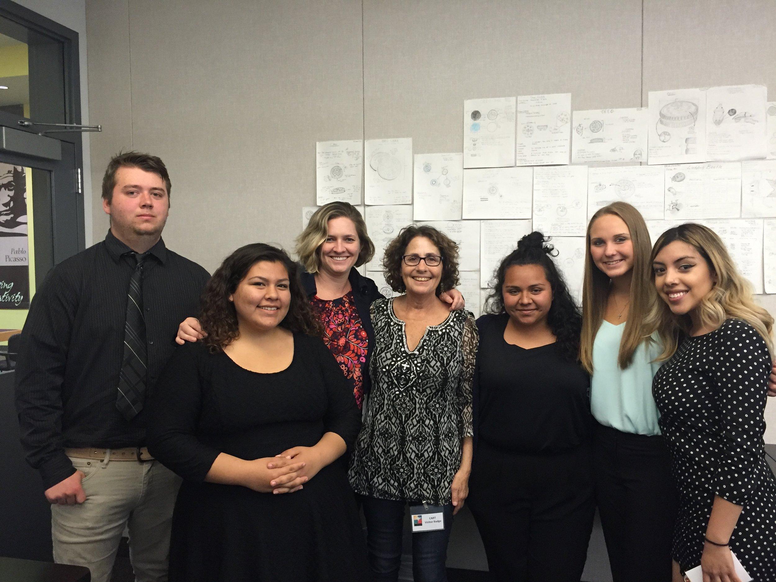 CART Spring Mentorship Project Air Pollution Team 2016