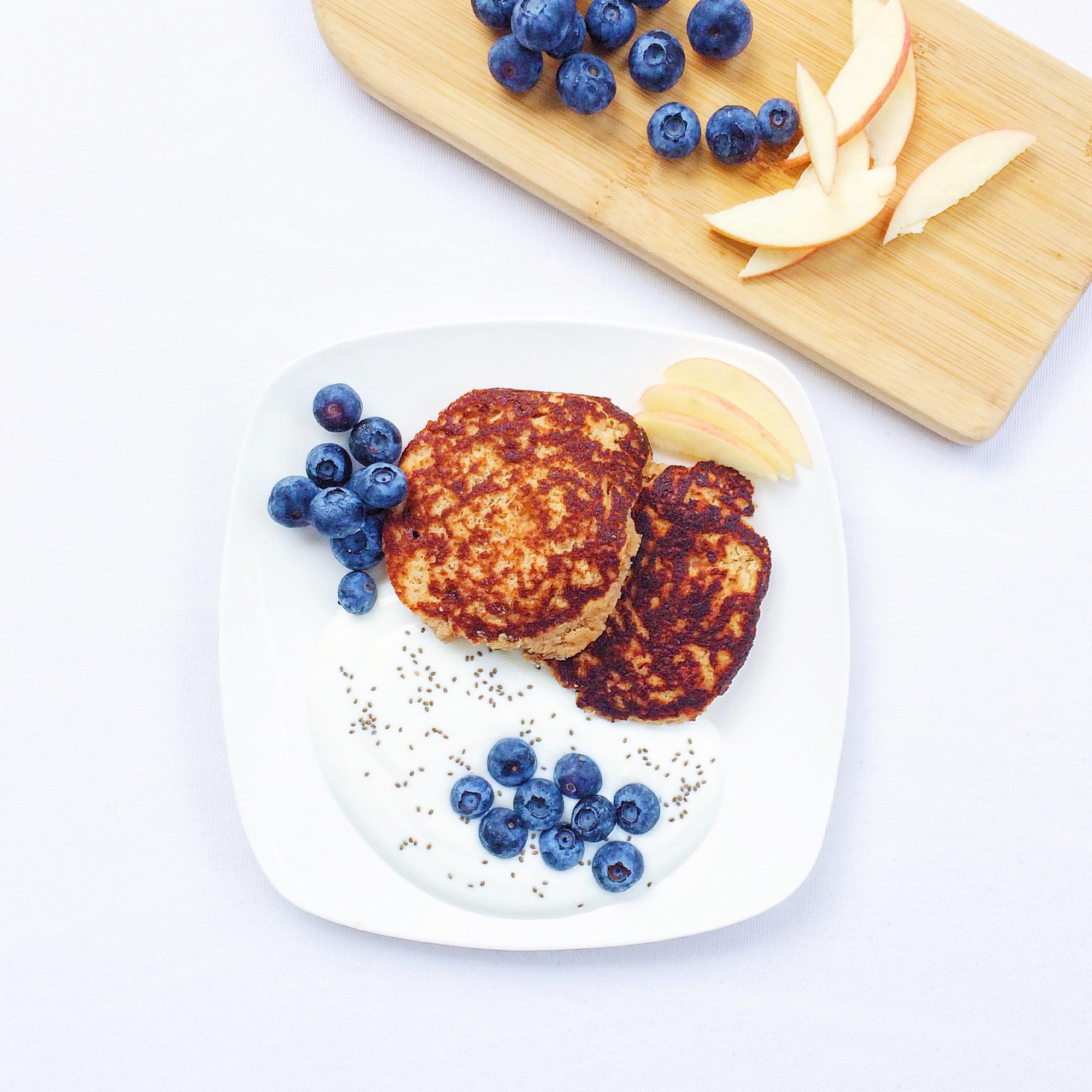 Deliver Lean -       Coconut Almond Pancakes