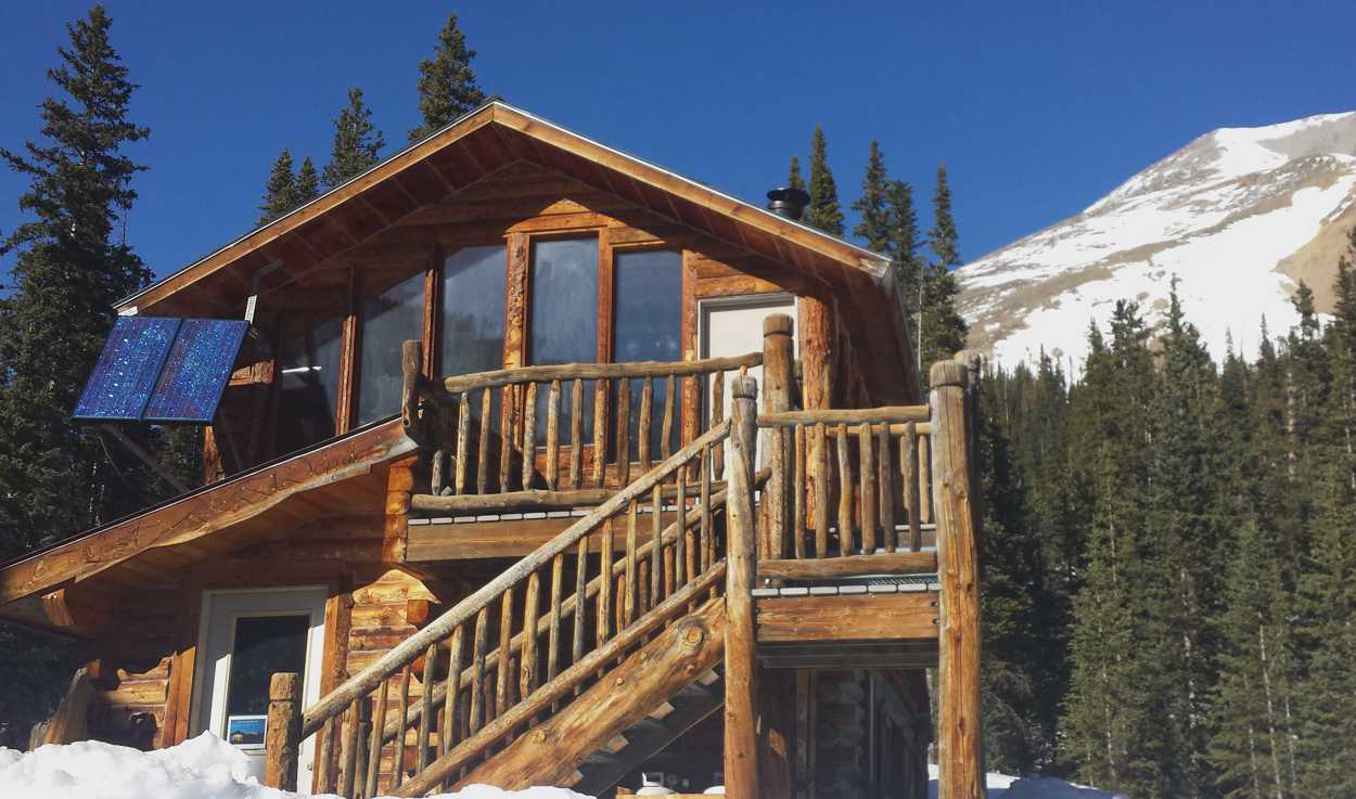 Lost Wonder Hut near Monarch Pass, Colorado